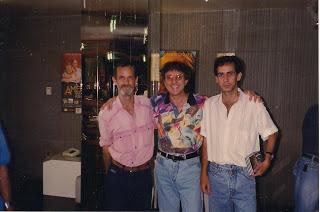 Ozeas, Sílvio Brito e Pedro Jorge